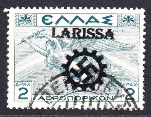 GREECE C32 LARISSA OVERPRINT CDS F/VF SOUND
