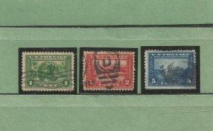 USA Postage Stamps Used Panama-Pacific Expo