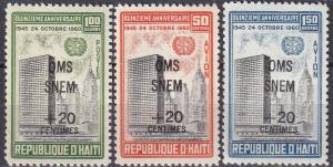 Haiti #B21, CB35-6 MNH (K2087)