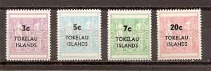 Tokelau 12-15 MNH