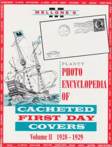 Mellone's Planty Photo Encyclopedia of Cacheted FDCs, Volume II, 1928-1929. NEW
