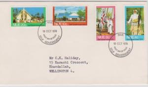 Niue - 1974 Self Government First Day Cover