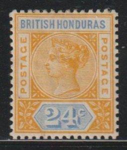 British Honduras SC 45  Mint  Hinged