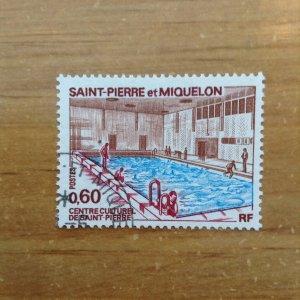 St Pierre & Miquelon SC 429 used
