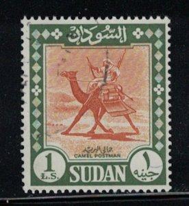 Sudan # 159   1962   Used     SCV $ 6.50