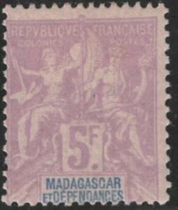 Madagascar #47 M/H 25% of SCV $37.50 **FREE SHIPPING**