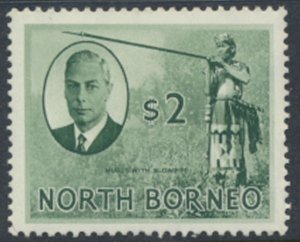 North Borneo  SG 368 SC# 256 MH    see scans and details