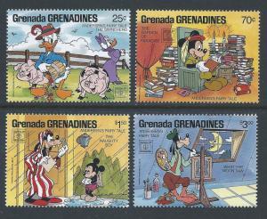 Grenada Grenadines #919,23-5 NH Disney - Hafnia '87 Part 2