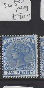 BAHAMAS  (PP1710B)  QV  2 1/2 D  SG 50        MOG