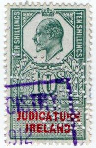 (I.B) Edward VII Revenue : Judicature Ireland 10/-