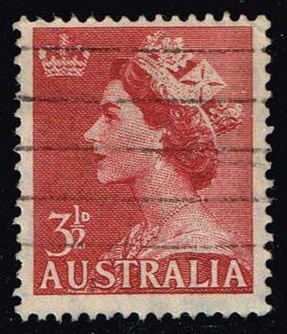 Australia #258 Queen Elizabeth II; Used (0.45)