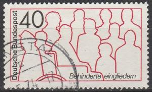 Germany #1133 F-VF Used  (S4446)