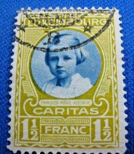 LUXEMBOURG 1928  -  SCOTT # B34       USED     (XL2)