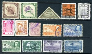 COSTA RICA - 46 Stamps Reg, Official, Air Post all good condition.