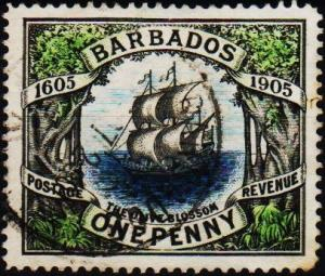 Barbados. 1906 61 S.G.152 Fine Used