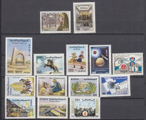 J28856, 1991 syria stamps mnh all dif #