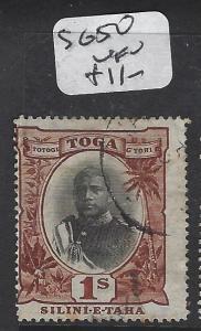 TONGA (P0605B)  1/-  SG 50  VFU