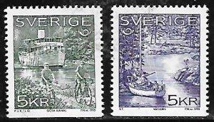 Sweden Scott #'s 2125 - 2126 MNH