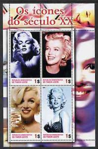 Timor 2004 Icons of the 20th Century - Marilyn Monroe #02...