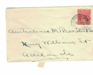 APH1472) Australia 1932 2d Red KGV Die I Small Cover