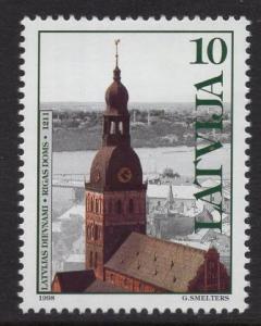 Latvia   #475   MNH  1998   Dome church Riga