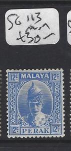 MALAYA  PERAK  (PP0906B)  SULTAN 12C   SG 113   MOG