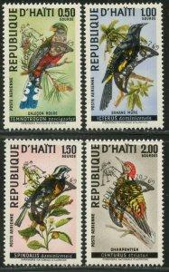 HAITI Sc#C344A-C344D 1969 Apollo XI Overprint Complete OG Mint LH