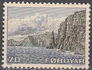 Faroe Islands #11 MNH