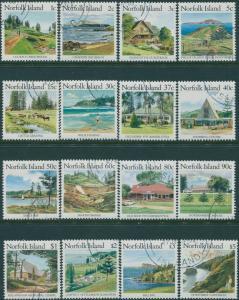 Norfolk Island 1987 SG405-420 Scenes set FU