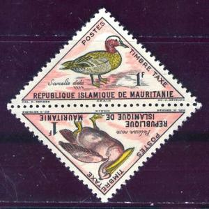 Mauritania 1963: Sc. # J28-J29a; **/MNH Single Stamp
