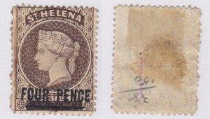 St. Helena #38b used CV $850