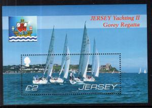 Jersey 1266 Regatta Souvenir Sheet MNH VF