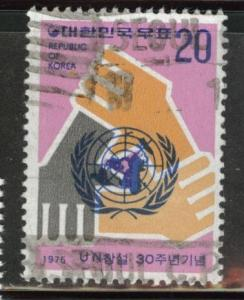 Korea Scott 998 used UN stamp