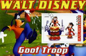 DISNEY Goof Troop s/s Perforated Fine Used