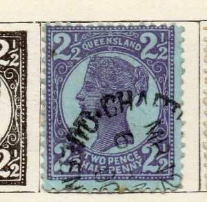 Queensland 1897 Early Issue Fine Used 2.5d. NW-113708