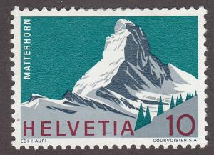 Switzerland 467 Hinged 1965 Matterhorn