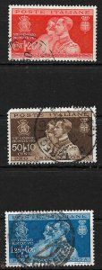 COLLECTION LOT #364 ITALY # 239-41 1930
