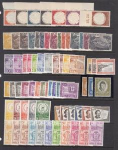 Venezuela Scott C636 // C720 Mint NH airmail sets (Catalog Value $73.45)