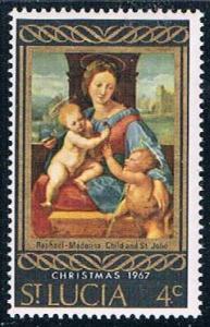 St Lucia Christmas 4 - pickastamp (SP16R503)