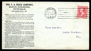 U.S. T III 1st Bur. Iss. on Davis Medical Publishers 1895 Ad Cover