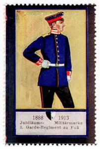 (I.B) Germany Cinderella : Army 25th Anniversary (3rd Regiment of Foot Guards)
