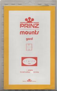 PRINZ CLEAR MOUNTS 241X114 (5) RETAIL PRICE $10.50