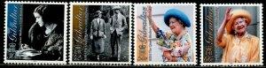 GIBRALTAR Sc#846-849 2000 Queen Mother Birthday Complete Set OG Mint NH