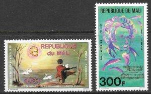 Mali (1978) - Scott # C322 - C323,   MNH