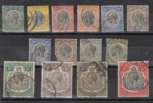 Tanganyika KGV 1927 Set To 5/- Used J8447