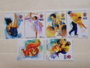 MALAYSIA 2001  THE 21st SOUTH EAST ASIAN GAMES - KUALA LUMPUR, MALAYSIA