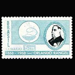 BRAZIL 1968 - Scott# 1075 Fonseca Rangel Set of 1 NH no gum
