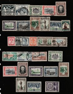 Southern Rhodesia a small lot of mainly KGVI era