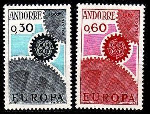 ANDORRA FRANZÖSISCH [1964] MiNr 0199-00 ( **/mnh ) CEPT