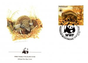 Paraguay, Worldwide First Day Cover, World Life Fund